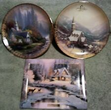"Thomas Kinkade ""The Spirit of Life"" &  ""Wish You Were Here"""
