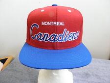 Montreal Canadiens Snapback, Mitchell & Ness Men's NHL Hockey Hat