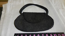 Vintage Black Heavily Beaded Purse Made in Hong Kong by Ming Arts