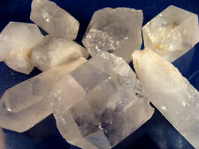 JUMBO QUARTZ CRYSTAL POINTS Rough Rocks - 1 Lb Lot - Tumbling, Crafts, Cabbing,