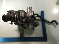 08-14 Volkswagen GTI 2.0L Exhaust Manifold Includes Turbo Engine ID CBFA L
