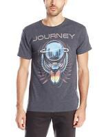 Men's Journey Beetle Planet Album Art Graphic T-Shirt Tee Rock Band Music Metal