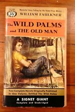 The Wild Palms and The Old Man William Faulkner Signet Giant Paperback 1954