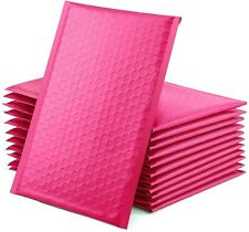 """50 Pcs 6x10 Pink Bubble Mailers Self Seal Padded Shipping Envelopes 6""""x10"""""""
