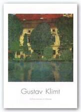 House On The Attershee I Gustav Klimt Art Print 16x16