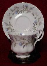 ROYAL ALBERT china BRIGADOON pttrn CUP & SAUCER Set