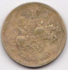 Indonesia Bulls Racing 100 Rupiah Coin 1998 - MUST L@@K!