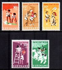 Suriname - 1966 Child welfare; CelebrationsMi. 507-11 MNH