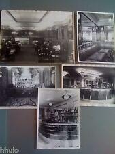 A907 LOT Photographie Originale Bar comptoir Bistrot Usine Cubain St Ouen VTG
