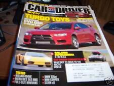 Car & Driver Magazine 11/2007 Mitsubishi EVO GSR