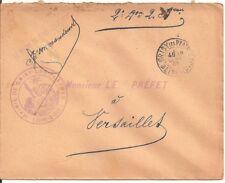 LETTRE,COVER,LSC;Seine et Oise;Mairie,GRISY LES PLATRES;28/9/1905,Franchise