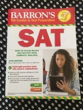 Barron's SAT The Leader in Test Preparation 27th Edition ~ c. 2014