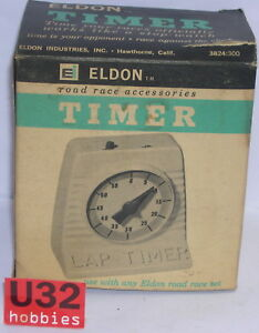 Eldon 3824 Timer Your Races Officially Works As Stop-Watch MB