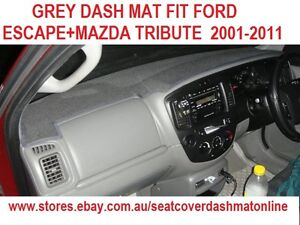 DASH MAT,DASHMAT,GREY DASH MAT FIT FORD ESCAPE+MAZDA TRIBUTE  2001-2011,GREY