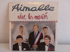 AIMABLE Vive les mariés 102385