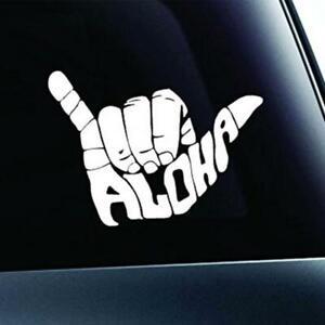 Aloha Sticker Shaka Aufkleber Surfing Surfergruß Hawaii Hang Loose Auto Hand