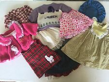 Vintage Big Baby Reborn Girl Doll Dress  Clothing Outfit Clothes Lot