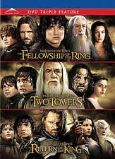 The Lord of the Rings: The Trilogy  ( DVD, 2012, 3-Disc Set