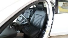 2017 Ford Fusion - Genuine OEM FRONT Driver Passenger POWER SEAT LEATHER BLACK