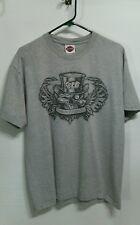 Men's Harley Davidson Las Vegas Nevada Grey T-Shirt Sz LRG