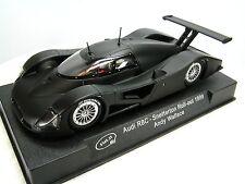 New SLOT.IT 1/32 Slot Car - AUDI R8C 1999 Snetterton Roll-Out Matte Black