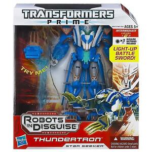 Transformers Prime Robots in Disguise Voyager Thundertron Action Figure