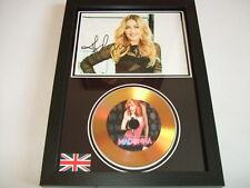 MADONNA   SIGNED  GOLD CD  DISC