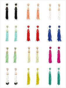 Mini Beads Tassel Earrings