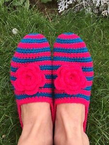 handmade Socks Christmas gift,winter warm red pink , green , grey, yellow, blue
