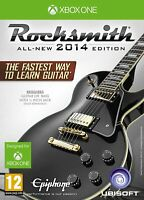 Rocksmith 2014 Xbox One with real tone cable Brand New Fcatory Sealed