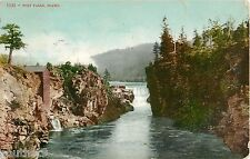 1908 Post Falls, Idaho Postcard