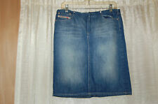 Diesel Industry Jeans Skirt Size 29 Made in Italy