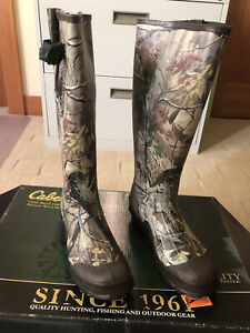 Cabelas 83-1009 Rubber Boots Size 10 Medium