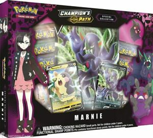 Pokemon TCG: Champion's Path Special Collection - Marnie ::