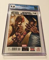 Amazing Spider-Man #4 CGC 9.8 WHITE PGS 1ST APPEARANCE SILK HOT MARVEL 2014 1st
