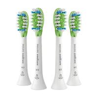 4x Philips Sonicare DiamondClean W3 Whitening Sonic Brush Heads | White | No Box