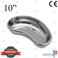 """Professional 10"""" Medical KIDNEY TRAY DISH BASIN Surgical Stainless Steel CE New"""