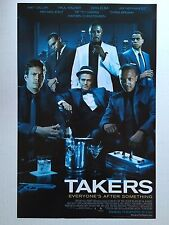 TAKERS movie poster print (style A) : 11 x 17 inches CHRIS BROWN, PAUL WALKER