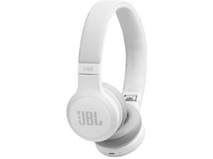Auriculares inalámbricos - JBL LIVE 400 BT, Bluetooth, Autonomía 24 h, Blanco