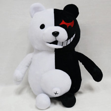 Dangan Ronpa Mono Kuma Monokuma White&Black Bear Doll Toy Soft Plush Anime New