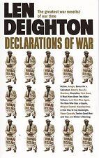 Declarations of war by Len Deighton - New Paperback Book
