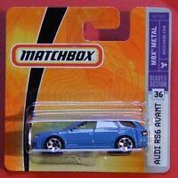 MATCHBOX 2008    AUDI RS6 AVANT   M7365  NEU&OVP