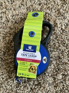 Top Paw Retractable Tape Pet Leash X SMALL  20lb