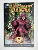 Trinity Of Sin: Pandora Vol 1 The Curse - DC Trade Paperback Graphic Novel NEW!