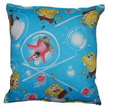 Sponge Bob Pillow Bubble SpongeBob and Patrick Pillow HANDMADE in USA