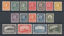 Canada Sc 162-177 MLH. 1930-1931 KGV Arch, complete set of 16, F-VF