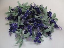 50 x Lavendel Blüten künstlich Kunstblumen Deko Streuer Floristik Basteln Tisch