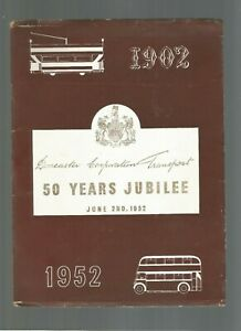 DONCASTER TRANSPORT 1952 HISTORY BOOK ILLUSTRATED OLD PHOTOS OF BUSES TRAMS ETC