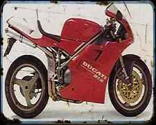 Ducati 916Sp 2 A4 Photo Print Motorbike Vintage Aged