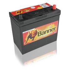 Banner Power Bull P4523 45Ah Autobatterie inkl. Polhülsen DÜNN/Fiat/Jap. auf DIN